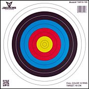 "30-06 OUTDOORS PAPER TARGET ARCHERY 10-RING 17""X17"" 100CT"