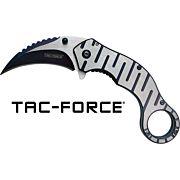 "MC TAC-FORCE 2.5"" HAWKBILL BLADE FOLDER GREY/BLACK"