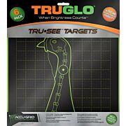 TRUGLO TRU-SEE REACTIVE TARGET TURKEY 6-PACK