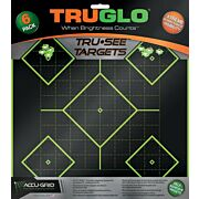 TRUGLO TRU-SEE REACTIVE TARGET 5 DAIMOND 6-PACK GREEN