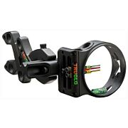 TRUGLO BOW SIGHT STORM 3-PIN .019 DIA BLACK