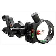 TRUGLO BOW SIGHT STORM 5-PIN .019 DIA W/LIGHT BLACK