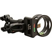 TRUGLO BOW SIGHT CARBON XS XTREME 5-PIN .019DIA BLACK