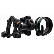 TRUGLO BOW SIGHT RANGE ROVER 1-PIN .019 DIA BLACK