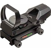TRUGLO PANORAMIC SIGHT 4-RETICLE RED/GREEN BLACK