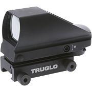 TRUGLO TRU-BRITE RED/GREEN SIGHT 4-RETICLE BLACK MATTE