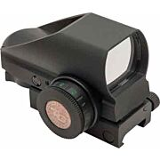 TRUGLO TRU-BRITE RED/GREEN SIGHT 4-RETICLE BLACK MATTE