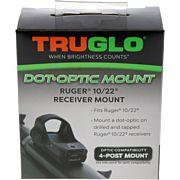 TRUGLO RUGER 10-22 RECEIVER MOUNT FOR TRU-TEC/VORTEX SIGHT