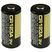 TRUGLO CR123A LITHIUM ION BATTERIES 2-PACK