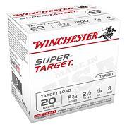 WIN AMMO SUPER TARGET 20GA. 1200FPS. 7/8OZ. #8 25-PACK