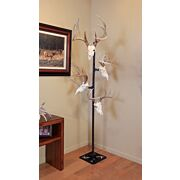SKULL HOOKER TROPHY TREE W/ 5 BRACKETS CUSTOMIZABLE DISPLAY