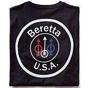 BERETTA T-SHIRT USA LOGO LARGE BLACK