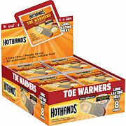 HOTHANDS TOE WARMERS 40 PAIR 8 HOUR W/ ADHESIVE