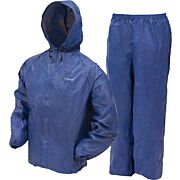 FROGG TOGGS RAIN SUIT MENS ULTRA-LITE-2 LARGE BLUE