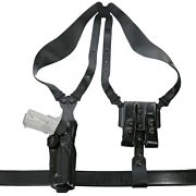 "GALCO VERTICAL SHOULDER SYSTEM 4.0 AMBI LEATHER 1911 5"" BLAC"