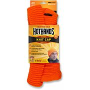 HOTHANDS HEATED KNIT CAP BLAZE ORANGE W/FREE PAIR OF WARMERS