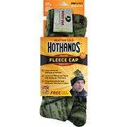 HOTHANDS HEATED KNIT CAP MOSSY OAK BU W/FREE PAIR OF WARMERS