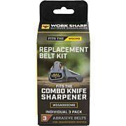 WORK SHARP REPLACEMENT BELT KIT FOR COMBO KNIFE SHARPENER
