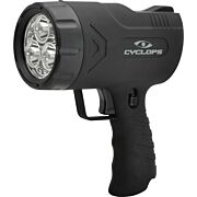 CYCLOPS SPOTLIGHT RECHARGEABLE HANDHELD SIRUS 500 LUM LED BLK