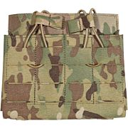 GREY GHOST GEAR DOUBLE 7.62 MAG POUCH LAMINATE MULTICAM