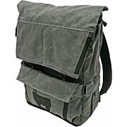 GREY GHOST GEAR GYPSY PACK WAXED CANVAS CHARCOAL