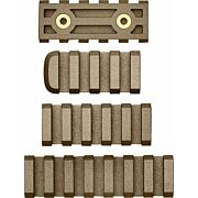 AB ARMS RAIL COMBO PACK LTF 7/5/4 SLOT RAILS FDE
