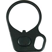 GUNTEC AR15 SINGLE POINT SLING ADAPTER BLACK