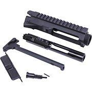 GUNTEC AR15 STRIPPED BILLET UPPER RECEIVER KIT BLACK
