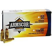 ARMSCOR AMMO .22TCM9R 39GR JHP 50-PK (NOT THE SAME AS 22TCM)