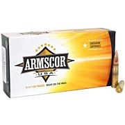 ARMSCOR AMMO .300AAC BLACKOUT SUBSONIC 220GR. HPBT 20-PACK