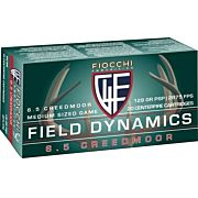 FIOCCHI AMMO 6.5 CREEDMOOR 129GR. PSP 20-PACK