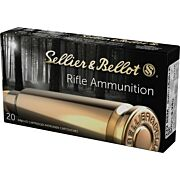S&B AMMO .222 REMINGTON 50GR. JSP 20-PACK