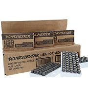 WIN AMMO USA 9MM LUGER (CASE) STEEL CASE 115GR FMJ-RN 500RDS