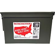 "WIN AMMO 12GA. (CASE OF 2) 2.75"" 00BK 9PEL AMMO CAN 320RD"