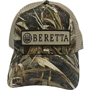 BERETTA CAP TRUCKER W/PATCH COTTON MESH BACK RT-MAX5 CAMO