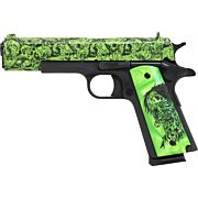 """IVER JOHNSON 1911A1 .45ACP 5"""" FS 8RD ZOMBIE EDITION"""