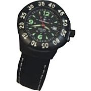 S&W MEN'S EXTREME OPS WATCH BLACK RUBBER WRIST STRAP