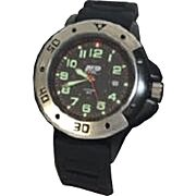 S&W MEN'S MIL/POLICE STYLE WATCH BLACK POLY WRIST STRAP