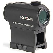 HOLOSUN MICRO RED DOT PUSH BTN 2-MOA DOT 1/2 MOA WINDAGE/ELV
