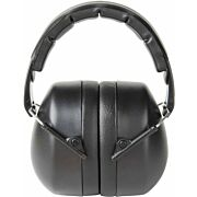 PELTOR EARMUFF FOLDING HEARING PROTECTOR 25DB BLACK