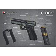 "TEKMAT GLOCK 3D 24""X36"" POSTER!"