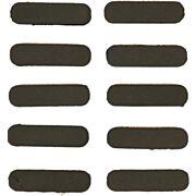 GUNTEC RUBBER INSERT COVERS 10PK M-LOK BLACK