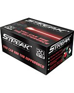 AMMO INC AMMO .45ACP 230GR. FMJ STREAK RED 20-PACK