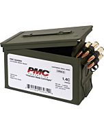 PMC AMMO .50 BMG AMMO CAN 660GR.FMJ-BT 100 ROUNDS LINKED