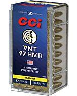 CCI AMMO VNT TIPPED .17HMR 17GR. VNT 50-PACK