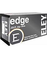 ELEY AMMO EDGE .22LR 40GR. EPS BLACK BULLET 50-PACK !