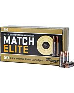 SIG AMMO 9MM LUGER 147GR. ELITE COMPETITION JHP 50-PACK