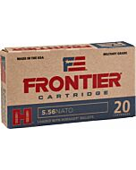 FRONTIER AMMO 5.56MM NATO 62GR. SPIRE POINT 20-PACK