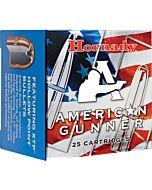 HORNADY AMMO AMERICAN GUNNER .38 SPECIAL 125GR. XTP 25-PACK