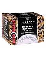 FED AMMO AUTOMATCH .22LR 40GR RN 10-325RD PKS CASE LOTS ONLY